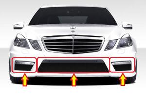 Neu Original Mercedes Benz E Klasse W212 AMG Vorder Set Stoßstange Unten Gitter