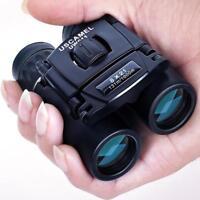 Compact Zoom Binoculars Long Range 3000m Folding HD Powerful Mini Telescope Bak4