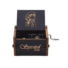 Spirited Away Corresponding Song Hand Crank Wooden Music Box Christmas Gifts