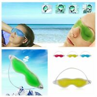 Hot Pack Goggles Cold Compress Ice Patch Gel Sleep Eye Mask Soothing Tired