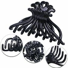 Black Fashion Ladies Plastic Spider Legs Hair Claws Clip Hairpin Paw Clamp 100mm