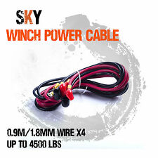 Winch Power Battery Electric Wire Cable Lead Connector for 4WD Boat ATV parts