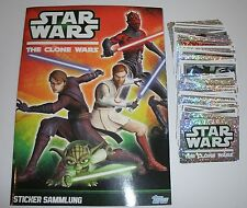 "Topps Star Wars Clone Wars sticker:"" 5/10/20 o 50 para sticker elegir"""