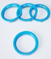 4 Centre Spigot Rings for 67.1 BSA to fit BMW Mini 56.1