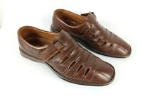 Josef Seibel Mens Brown Leather Casual Shoes Uk 8 Eu 42