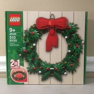 LEGO 40426 Wreath FREE SHIPPING for Christmas 2-in-1  New Factory Sealed
