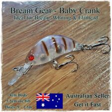 Bream & Whiting Fishing Lures Redfin, Trout, Flathead, Perch, Bass, Diving 5.5cm