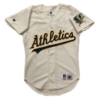 VINTAGE Oakland Athletics Russell Athletic Diamond Collection Rich Harden 40
