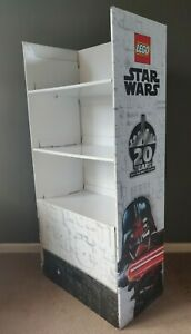 LEGO Star Wars Collectable Display Shelves- 20th Anniversary Darth Vader