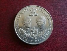 GUERNSEY  CROWN 25 PENCE 1981