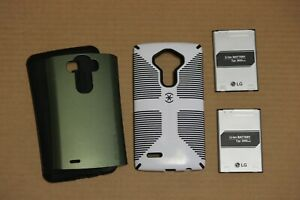 REDUCED! LG G4 two cases, two extra batteries and wall charger