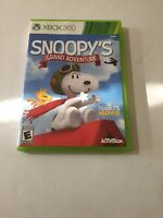 Peanuts Movie: Snoopy's Grand Adventure (Microsoft Xbox 360, 2015)