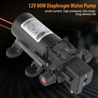12V 80W 5.5L/MIN Diaphragm Self Priming Water Pump with Pressure Switch  UK