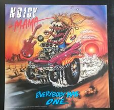 """Noisy Mama: Everybody Has One Rat Fink Ed """"Big Daddy"""" Roth Album Cover Art Mint"""