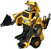 Odyssey Toys Diggin' Moto Remote-Controlled Transforming Robot Bulldozer
