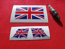 Union Jack helmet  stickers