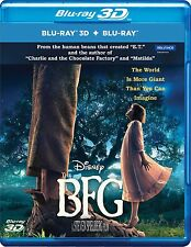 The BFG (Live Action) (2016) (Blu-ray 3D + Blu-ray) (All) (2 DISC) (New)