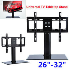 "NEW Universal Tabletop TV Stand Pedestal Base Wall Mount for 26-32"" LCD LED TV"