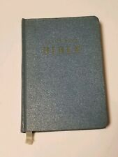 Vintage 1962 Olive Pell Bible, Christian Collectible