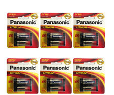 6 Pcs Panasonic 2CR5 Lithium Photo Battery, DL45, KL2CR5, 5032LC