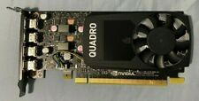Quadro P620 Video Graphic Card 2GB GDDR5 w/ display cables