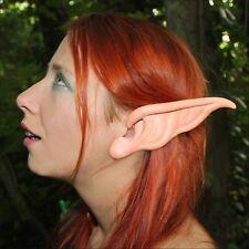 Pixie Ear Latex Prosthetics for fancydress, LRP, LARP