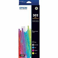 Genuine Epson 302 Inkjet 5 Ink Cartridge Value Pack C13T01W792 XP-6000 XP-6100