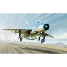 1:48 ECHELLE TRUMPETER TRU 02859 J-7A De combat Maquette En Plastique