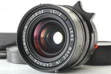 """TOP MINT+++ w/ Hood"" Leica Elmarit-M 28mm F/2.8 3rd Canada Lens M6 M7 MP JAPAN"