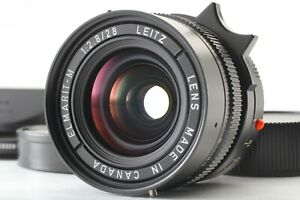 """TOP MINT w/ Hood"" Leica Elmarit-M 28mm F/2.8 3rd Canada Lens M6 M7 MP JAPAN"