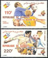 Djibouti 1982 Football World Cup, Spain/WC/Soccer/Games/Sports 2v set (n42145)