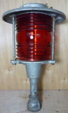 Old Retired BOSTON POLICE Dept SIGNAL SERVICE HD Light Nautical Street RR Lamp