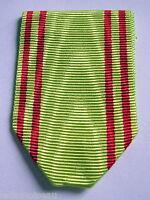 Ruban NEUF plié pour la médaille de l'ordre du Nichan iftikhar.
