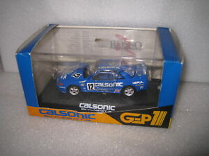 1/43 ROSSO NISSAN SKYLINE GT-R R32 #12 CALSONIC OLD SHOP STOCK GREAT LOOKING CAR