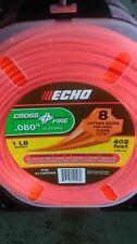 """ECHO 311080062 .080"""" Cross Fire Trimmer Line 1 LB Spool"""