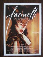 Filmplakatkarte  Farinelli   Stefano Dionisi, Enrico Lo Verso, Elsa Zylberstein