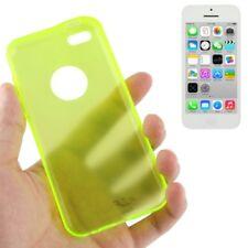 Frosted HardCase für Apple iPhone 5C in Neon gelb Schutzcase Hülle
