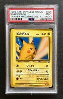 Pokemon PSA 9 (OFF CENTER) Snap Pikachu Trainer Magazine Vol.1 Japanese