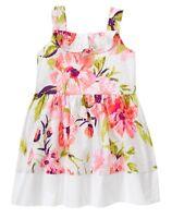 NWT Gymboree Family Brunch Eyelet Floral Dress Toddler Girls 2T,3T,4T 5T Easter