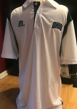 OU Gear OHIO UNIVERSITY SHIRT RUSSELL ATHLETIC POLO S CH P DRI-POWER COLLAR NEW!