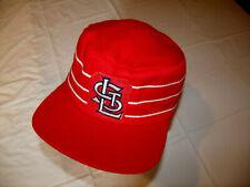 St. Louis Cardinals Vintage Pillbox Hat LEATHER Headband MLB Brand Large RARE