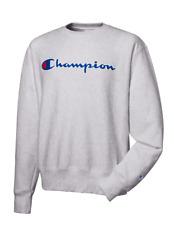 New Champion Life Reverse Weave Men's Sweatshirt Size XXL Oxford Grey