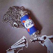 1664 Lager beer Handmade miniature Unique fab Kronenbourg Can Necklace novelty