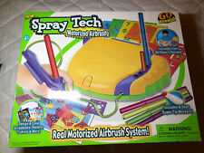 Motorized Airbrushing Kit For Kids Open Box Complete Holiday Gifts Art Open Box