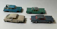 Vintage Lesney Matchbox Lot With FLAWS Cars GIFT