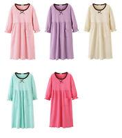 Girls  Ladies Kids Pyjamas Long sleeve Nightwear Cotton Night Nightwear 2-16yrs