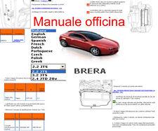 MANUALE OFFICINA Alfa Romeo Brera WORKSHOP MANUAL SERVICE SOFTWARE ELEARN