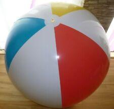 Extrem seltener riesiger weiß/bunter WASSERBALL, D = 150cm / 60