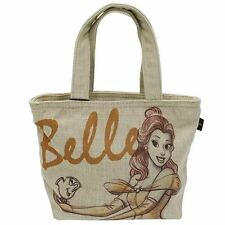 Disney Mini Tote Bag Lunch Bag Accessory Bag - Belle / Beauty and the Beast