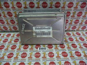 00 2000 OLDSMOBILE INTRIGUE ENGINE COMPUTER ECU ECM 09378702 DKHH OEM